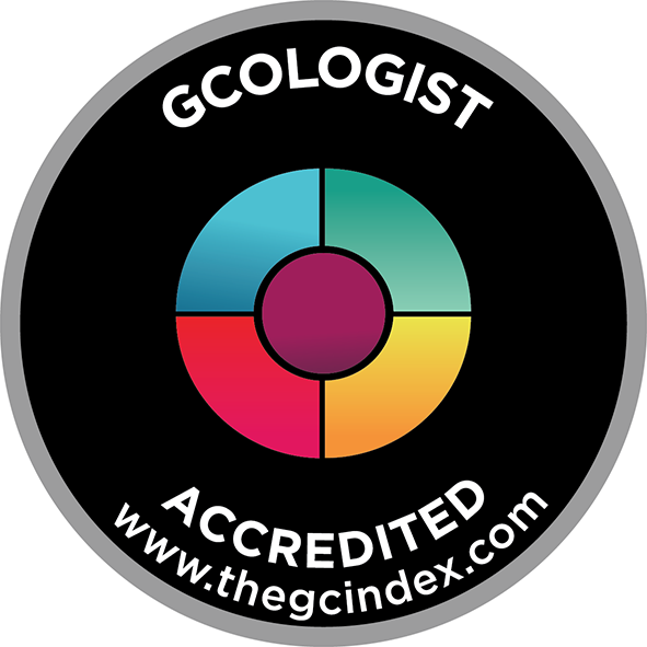 Accredited GCologist Badge