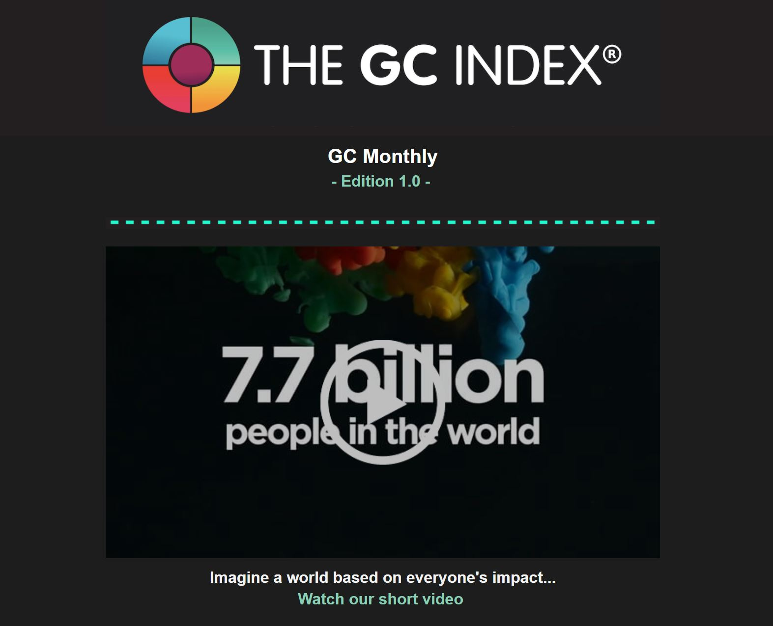 The GC Index Monthly Newsletter