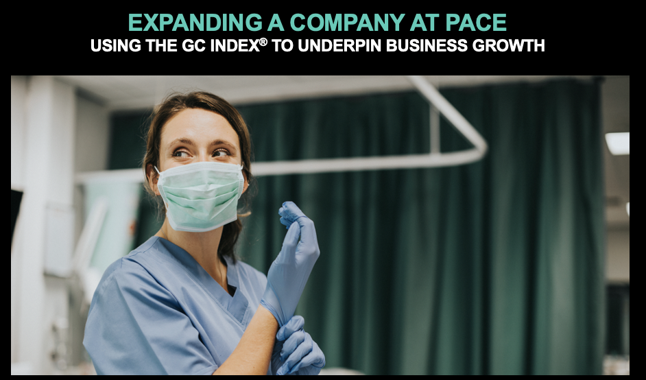 EXPANDING A COMPANY AT PACE